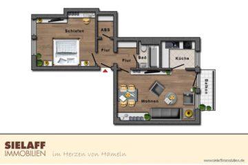 Single-Wohnung im alten Klüt-Viertel, 31787 Hameln, Erdgeschosswohnung